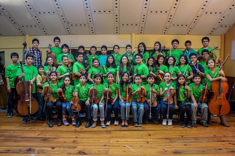 Orquesta de Tierra Arpegio Perú