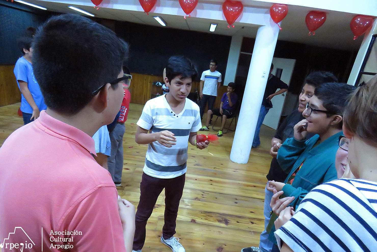 Celebración de San Valentín en Arpegio Perú