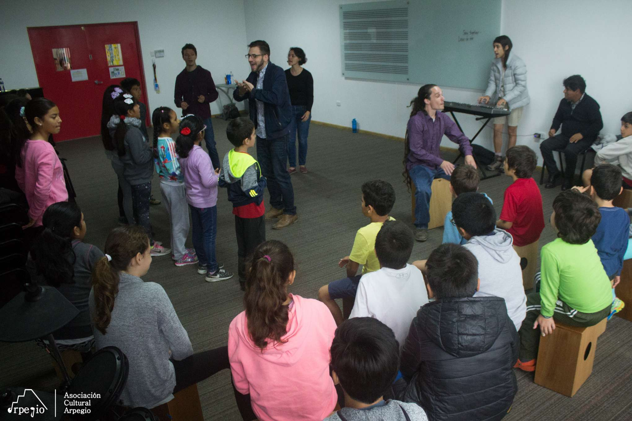Visita de  TEACHING ARTISTS INTERNATIONAL (TAI) 2018